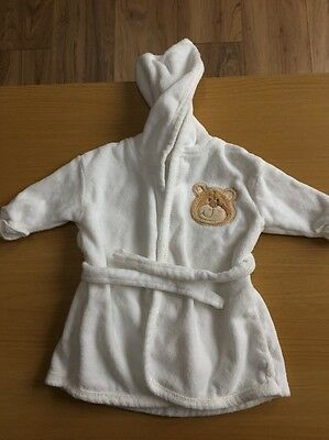 First Size Baby's Velour Dressing Gown