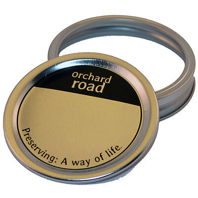 Orchard Road Canning Mason Jar Lids & Screw Bands - Wide