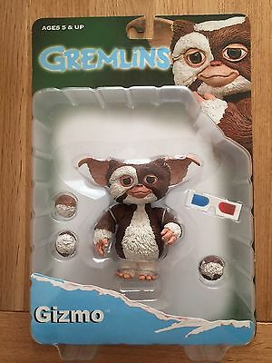 Neca Gremlins Gizmo 3D Glasses Reel Toys Action Figure Series 1 Mint On Card