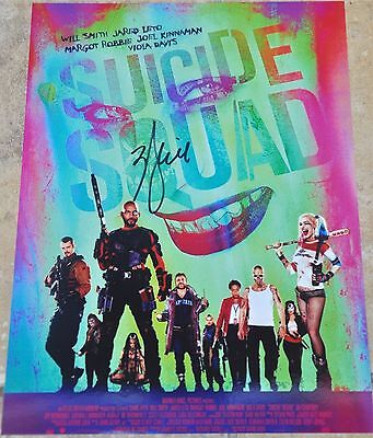 "Will Smith Signed 10.5"" x 8"" Colour Photo Suicide Squad"