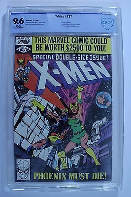 Marvel Uncanny X-Men #137 Death of Phoenix Graded CBCS 9.6