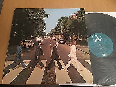 The Beatles Abbey Road Lp Vinyl 1969 Odeon Original Spain 10 C 064-004243 Nm Vg+