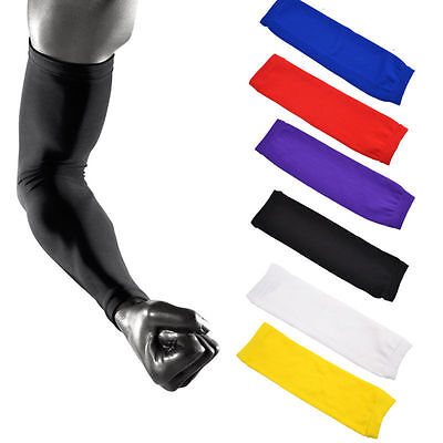 Sports Armlet Basketball Compression Arm Long Sleeve Guard Protector Tasteful