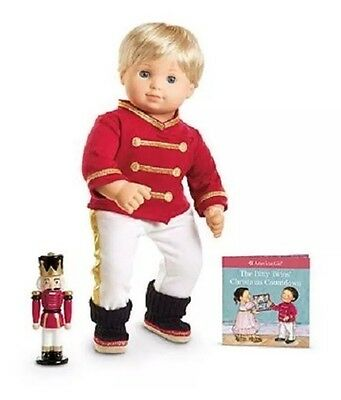 NEW American Girl BITTY BABY Twin Boy TOY SOLDIER PJS PAJAMAS & Nutcracker Doll