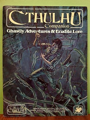 Cthulhu Companion | Chaosium 2304 | Original Edition | top condition