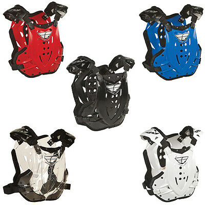 Fly Racing Stingray Motocross Roost Chest Protector Dirt Bike Mx Atv Adult Guard