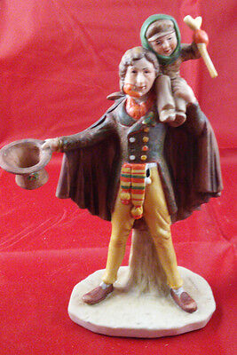 Norman Rockwell Gorham Figurine Tiny Tim With Box And Foam