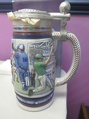 Avon Great American Baseball Ceramic Stein NIB