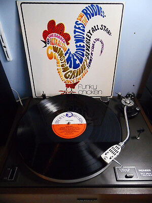 Various Artists Funky Chicken LP 1970 Rare UK Trojan Reggae/Ska Monster EX AUDIO