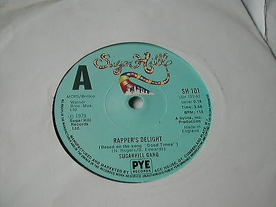 Sugarhill Gang - Rappers Delight - Sugarhill 7""