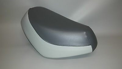 HONDA SA50 Elite 50 LX Seat Cover in 2-tone Charcoal & Light Gray or 25 Options