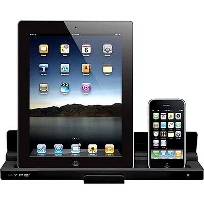 Charging Dock Cradle Cell Phone Tablet Charger iPad iPhone iPod Hype Dual NEW