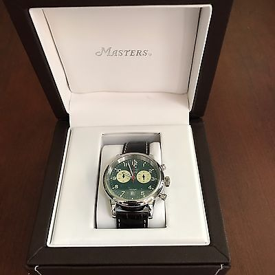 2016 MASTERS Mens Chrono Watch # 514 of 800 Limited Edition Augusta Collectors