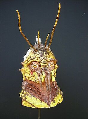 District 9 Yellow Prawn 1:1 Latex Mask/bust Rare!