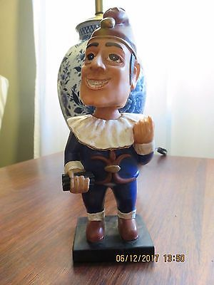 Rare Promotional Jester Bobble head Cigar - Tabacco Bobblehead Promotional