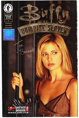 Buffy The Vampire Slayer #1 - Wizards/au.com Gold Foil Photo Variant Signed