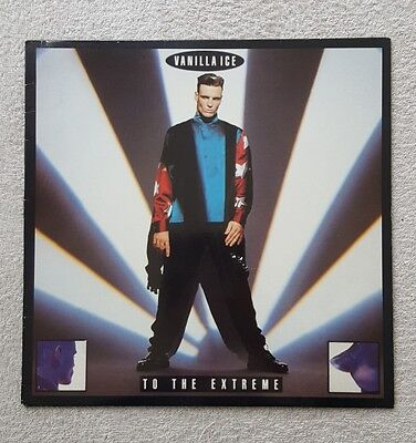 Vanilla Ice To The Extreme Lp Record Excellent Condition