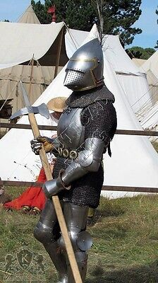 Antique Medieval Wearable Knight Crusader Templar  Full Suits Of Armor Costumes