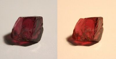 4ct Colour Shift Pyrope Garnet - Flawless Facet / Specimen Gem Rough