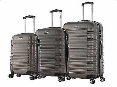 "InUSA New York Collection Lightweight Hardside Spinner Luggage 20"", 24"", 28"""