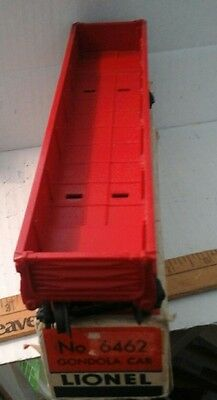 Lionel 6462 red ,box, some repair on flaps, very clean as pictured,