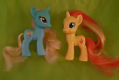My Little Pony G4 Friendship is Magic Dewdrop Dazzle and Sunset Shimmer Brony