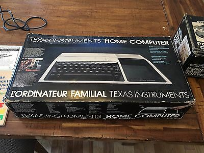 Texas Instruments Ti-99/4A Computer In Box