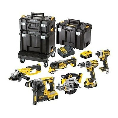 Dewalt DCK654P3T Cordless 18v 6 Piece Kit - Inc. 3 x 5.0ah Batteries Charger