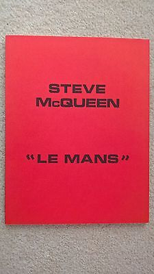 Le Mans  1971 , French  Original Press Book , Written In French