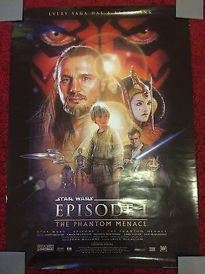 Star Wars Episode 1 The Phantom Menace Movie Film Poster - Size 89.5cm x 63.7cm