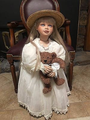 "VINYL 1996 Special Edition 32"" Virginia Turner Doll Ivory LE OF 600"