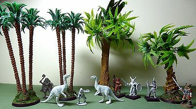 Barbarian Warrior Maidens, Dinosaurs & Palm Trees ~ Rare Citadel & Ral Partha