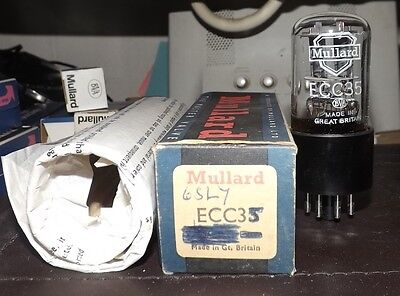 Mullard Ecc35  Nos Boxed Lot 2