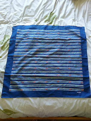 Ancien foulard SNCF uniforme train TGV collector