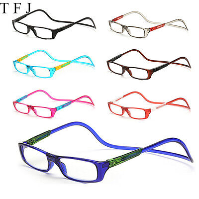 NEW Unisex Magnetic Reading Glasses Presbyopia Friendly Adjustable Hanging Neck