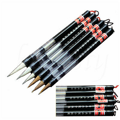 1/3PCS Adjustable Piston Water Brush Chinese Calligraphy Practice Pen 3 Sizes