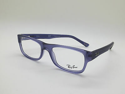 NEW Authentic Ray Ban RB 5268 5122 Matte Purple 48mm Eyeglasses
