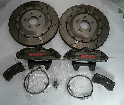 Alcon 355mm 4pot/pads/rotors/lines bbk R32 Z32 S13 S14 Nissan Drift