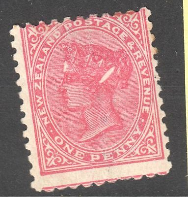 SG228c 1d Rose with Elipse flaw Mint