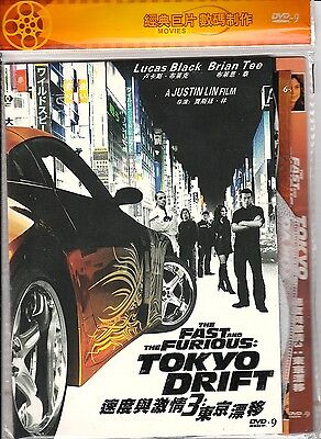 FAST and the FURIOUS 3 TOKYO DRIFT **NEW SEALED**(2006) Japan Lucas Black