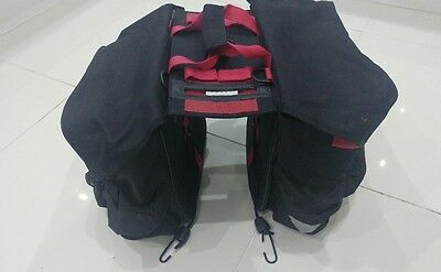 Sports Double Rear Water Repellent Bike / Cycle Pannier