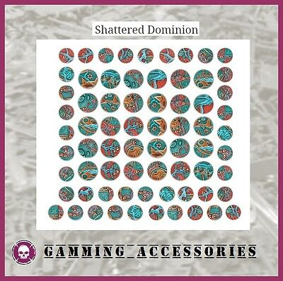 Socles Citadel Shattered Dominion Round Base 25Mm 32Mm Warhammer Aos