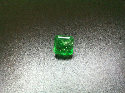 Certified Emerald - 10,10 carat Octagon Cut - Ready for setting