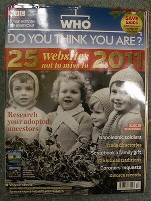 Who Do You Think You Are? Issue 42 Christmas 2010 with CD