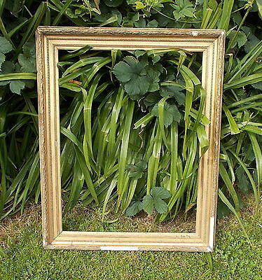antique picture/mirror frame, vintage French gilt frame,