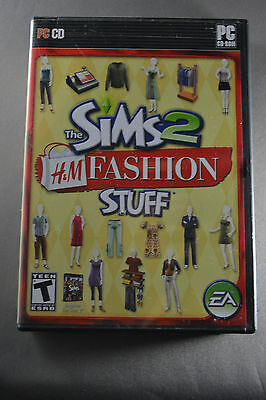 The Sims 2: H & M Fashion Stuff by Electronic Arts PC CD-ROM with User Manual