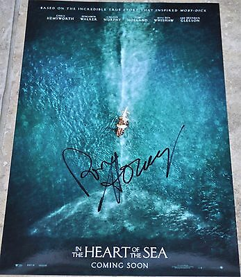 """Ron Howard Signed 12"""" x 8"""" Colour Photo In The Heart Of The Sea"""