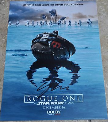"Gareth Edwards Signed 12""x 8"" Photo Star Wars Rogue One #2"
