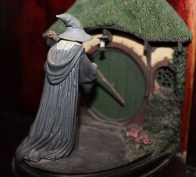 Sideshow Weta Lord of the Rings No Admittance Bookends Statue