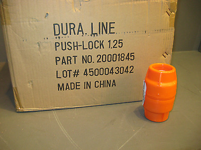 Dura-Line Push Lock Coupling 1.25 Inch Box Of 50 Sku 20001845
